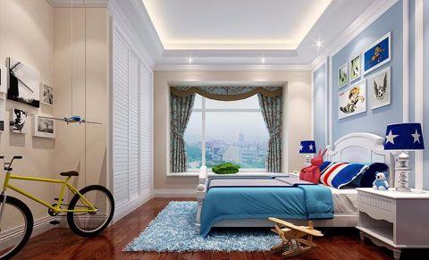 儿童房窗台简欧风格装饰效果图
