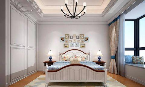 卧室窗台地中海风格装修设计图片