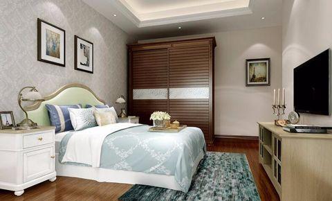 卧室走廊美式风格装饰图片