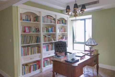 书房细节美式风格装修图片