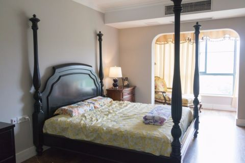 卧室细节美式风格装潢图片