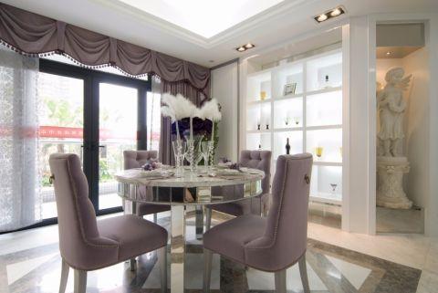 餐厅橱柜简欧风格装饰设计图片