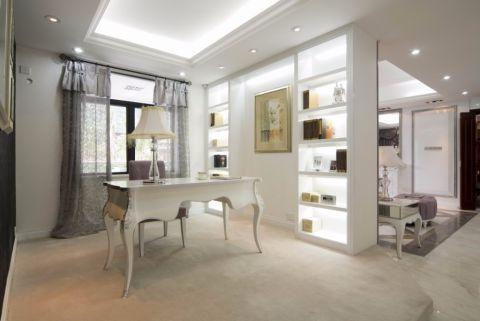 书房橱柜简欧风格装潢设计图片