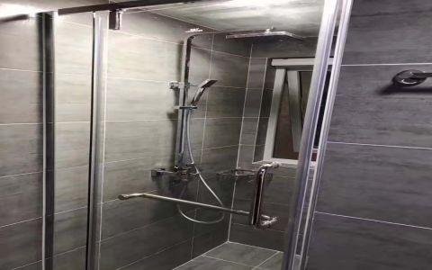 浴室吊顶现代简约风格装潢图片