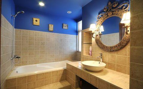 浴室细节地中海风格装饰图片