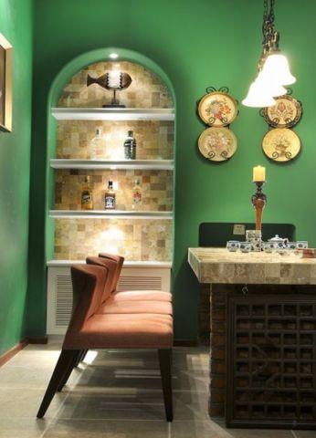 餐厅细节地中海风格装修设计图片
