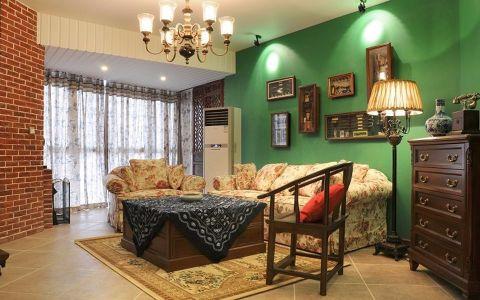120平米地中海风格三居室装修效果图