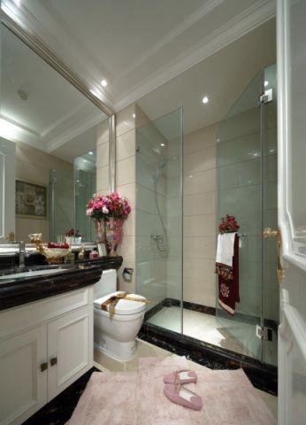 卫生间推拉门欧式风格装潢效果图