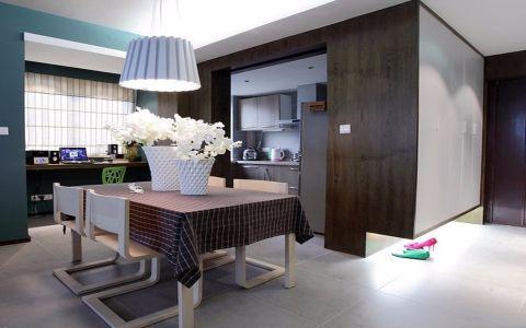 餐厅细节简约风格装潢设计图片