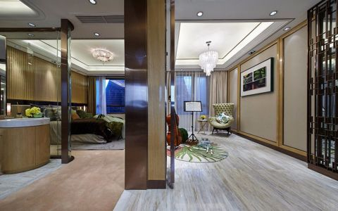 餐厅走廊混搭风格装饰效果图