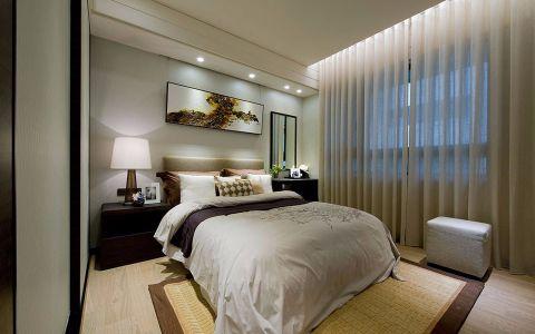 卧室飘窗中式风格效果图
