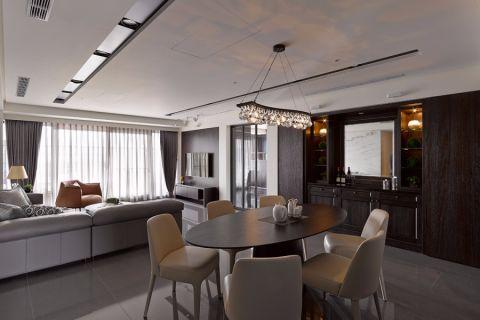 餐厅吧台现代简约风格装潢设计图片