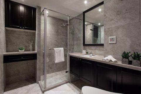 卫生间橱柜现代简约风格装饰效果图