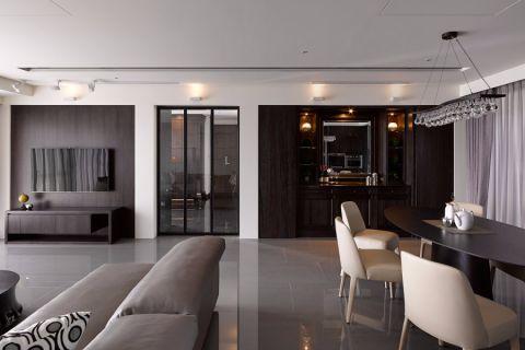 玄关门厅现代简约风格装潢效果图