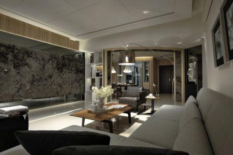 林语墅120平现代简约风格套房装修效果图