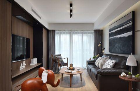 丰和新城127平三房现代风格装修效果图