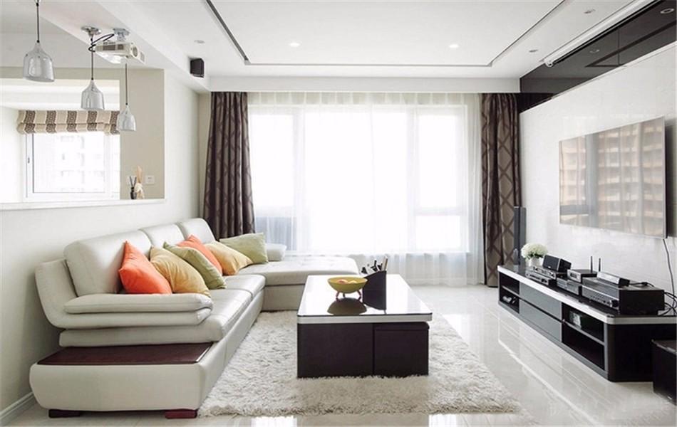 2室1卫2厅83平米现代风格