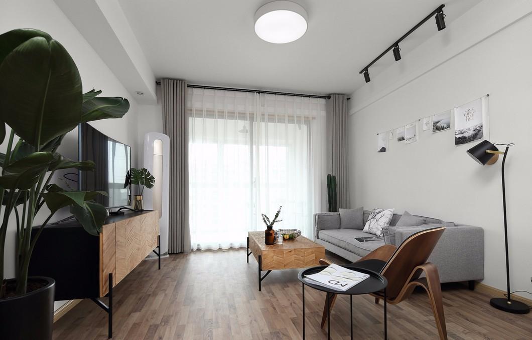 2室1卫2厅60平米北欧风格