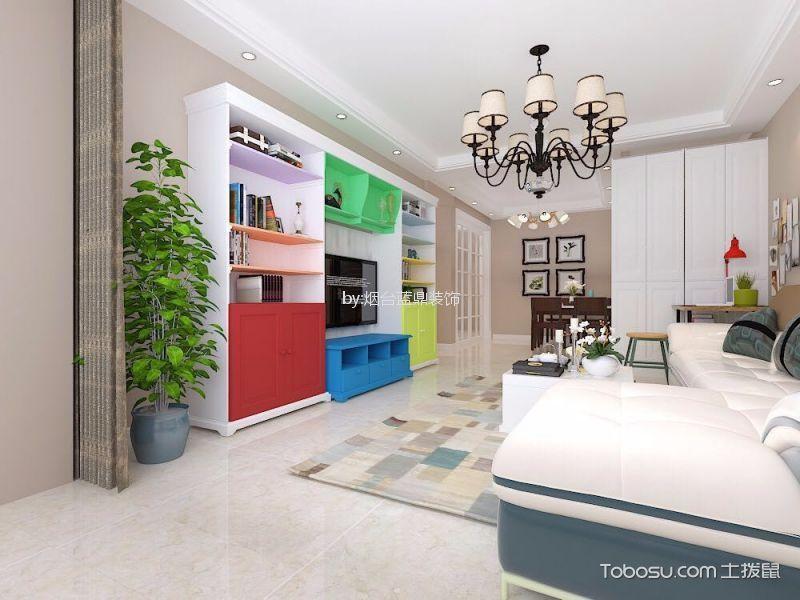120㎡/现代简约/楼房装修设计