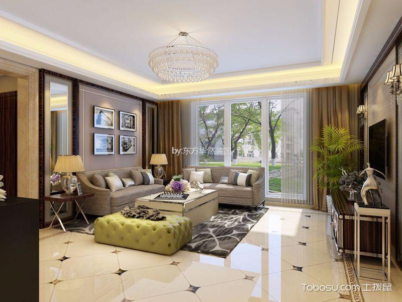 150平现代简约风格四居室装修效果图