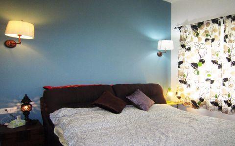 卧室背景墙欧式风格装潢效果图