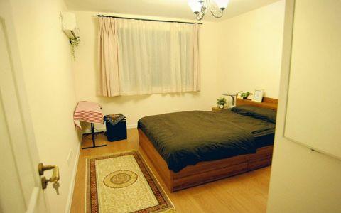 卧室白色飘窗现代风格装饰设计图片