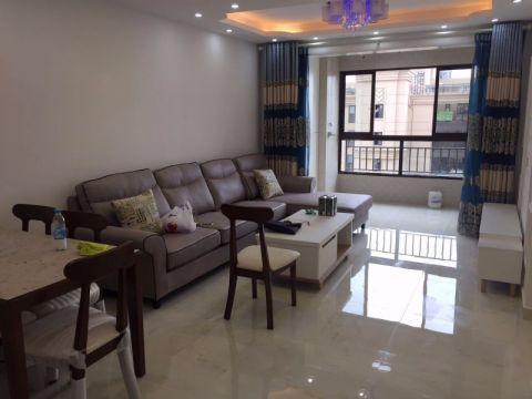 90平现代简约风格3室2厅装修效果图