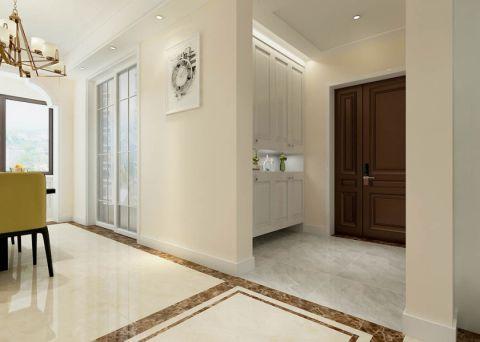玄关白色走廊现代简约风格装修图片