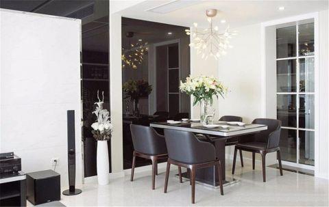 餐厅黑色细节现代风格装潢图片