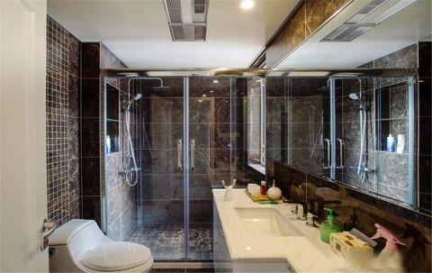 卫生间推拉门现代风格装潢设计图片