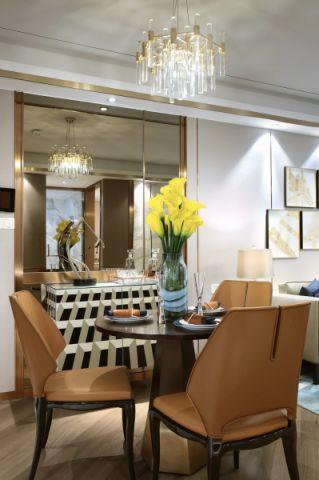 餐厅橱柜现代简约风格装潢设计图片