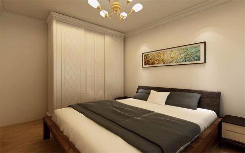 卧室灰色细节简中风格装修效果图