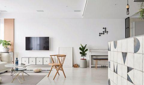客厅细节北欧风格效果图