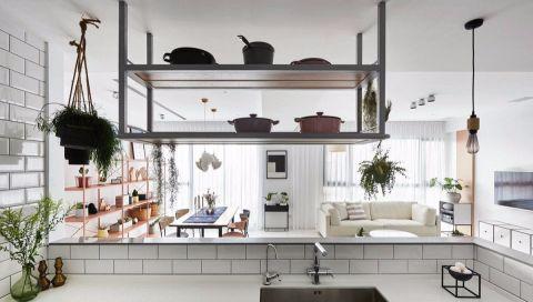 厨房隔断北欧风格装修图片