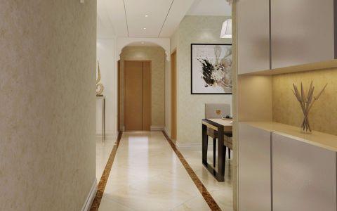 玄关走廊现代简约风格装潢设计图片