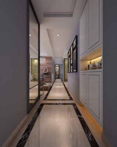 客厅走廊简中风格装潢效果图