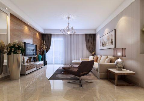 客厅吊顶简约风格装潢图片