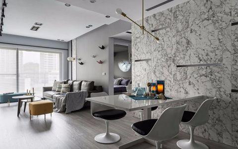 美联时光里90平简约风格二居室装修效果图