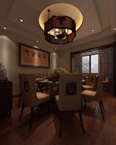 6万孙家厨房包厢50平米中式风格饭店装修效果图