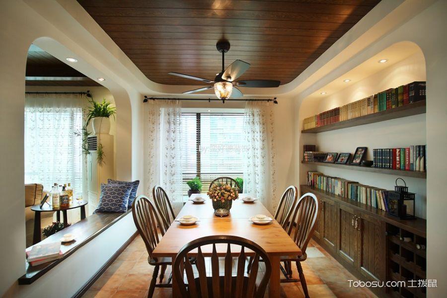 夏驾园86m²地中海风格两居室装修效果图