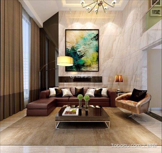 滨湖假日200㎡现代简约四居室装修效果图