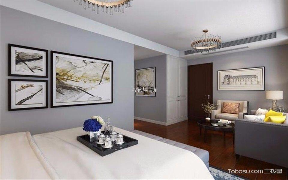 卧室白色门厅后现代风格效果图