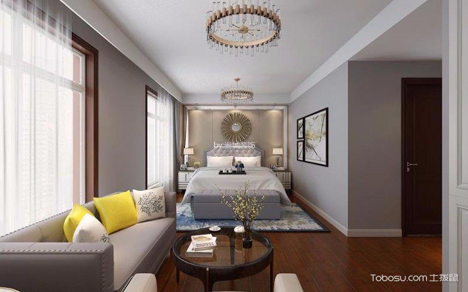 卧室白色门厅后现代风格装修效果图