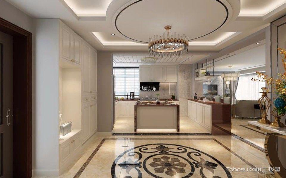 厨房白色窗台后现代风格装潢图片