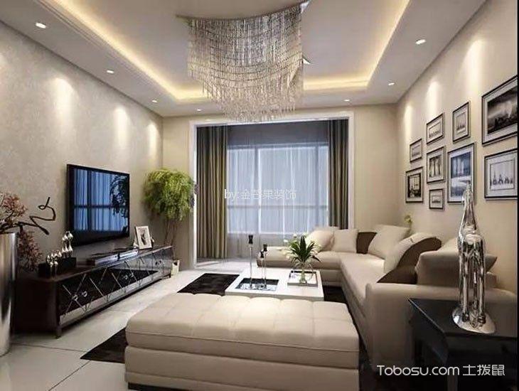 山水龙城117平米现代风格3室1厅装修效果图