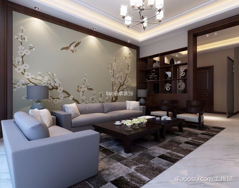 碧桂园280㎡新中式风格四居室装修效果图