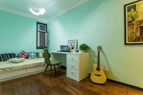 卧室彩色细节现代风格装饰设计图片
