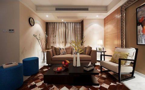 兴耀星悦湾120平米现代三居装修效果图