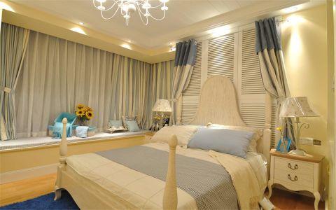 卧室白色飘窗简欧风格效果图