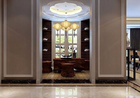 书房吊顶现代简约风格装修图片